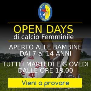 Open Day Calcio Femminile Santarcangelo